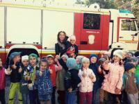 Экскурсия в Пожарно-спасательную часть №2