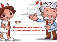 Игровая программа «Вместе против гриппа»