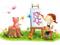 В нашем детском саду начала работу изостудия «Радуга»