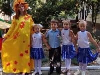 Праздник осени в нашем детском саду.